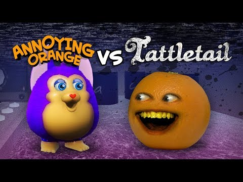 Annoying Orange vs Tattletail #Shocktober