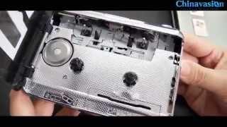 USB Cassette Player + Tape to MP3 Converter   Audio Tape