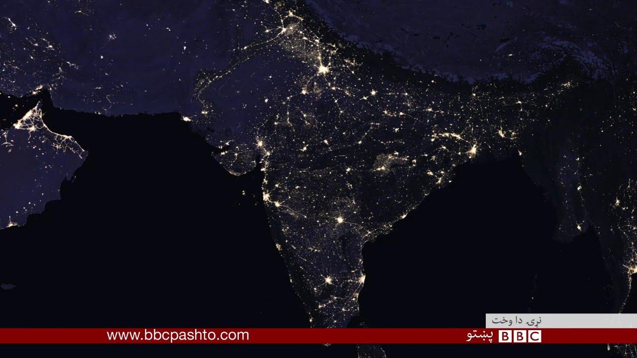 nasa night lights - 1200×693