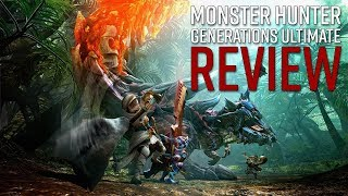 Monster Hunter Generations Ultimate Review - Slaying Creatures of Destruction Still Feels Great (Video Game Video Review)