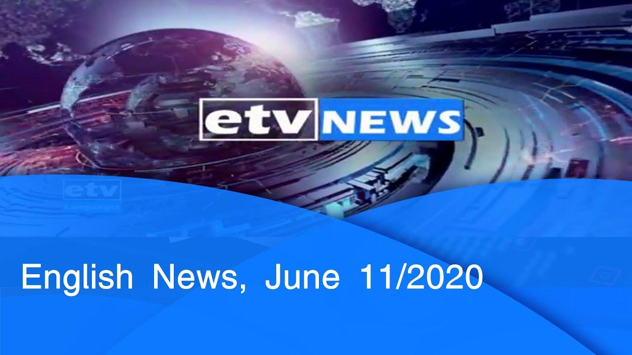 English News, June 11/2020|etv