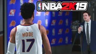 NBA 2K19 Prelude My Career - NBA Contract & First Game! (Ep 10)