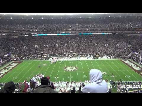 Bryant-Denny Stadium Rocking durring the LSU game on 11/9/13