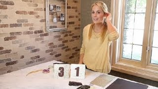 How To Make Glittery Table Numbers For Weddings : Crafting Ideas