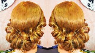 Причёска в греческом стиле без повязки | Лена Роговая | Hairstyles by REM | Copyright ©