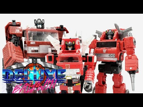 Inferno: Evolution in Action Figures (1984-2021) Transformer Overview! by Deluxe Baldwin