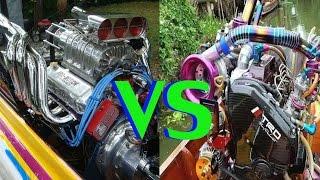 เรือซิ่งไทยTurbo vs เรือซิ่งฝรั่ง V8 อะไรจะแรงกว่ากัน