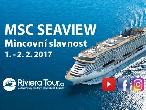 Mincovní slavnost MSC SEAVIEW - YouTube