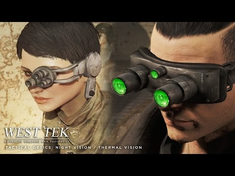 Fallout 4 Mod: West Tek Tactical Optics (night and thermal vision)