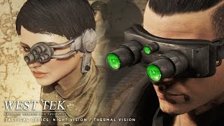 Fallout 4 Mod West Tek Tactical Optics night and thermal vision