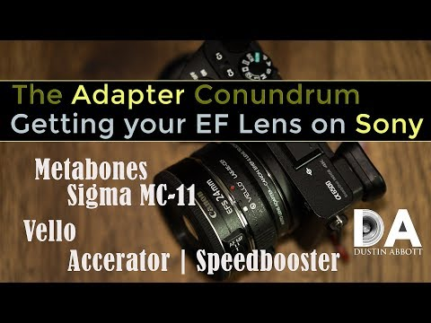 The Adapter Conundrum: Getting Your F/EF Glass on Sony | 4K