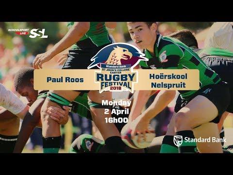 St John's Rugby Festival 2018 - Paul Roos vs Hoërkool Nelspruit, 02 April