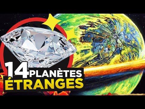 14 PLANÈTES les plus ÉTRANGES de l'UNIVERS