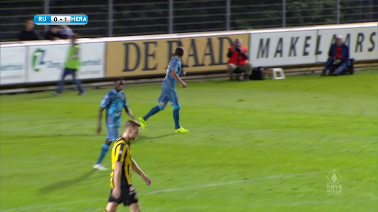 Rijnsburgse Boys - Heracles Almelo 0-2 | 19-09-2017 | Samenvatting