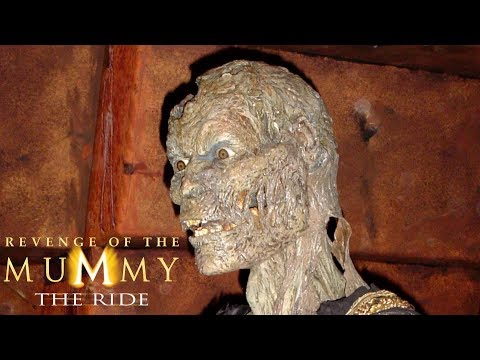 Revenge of the Mummy - The Ride Happy Anniversary to 14 Years of Service