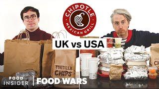 US vs UK Chipotle