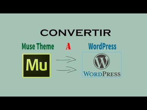 Como  Instalar Adobe Muse dentro WordPress el software en el mercado más avanzado