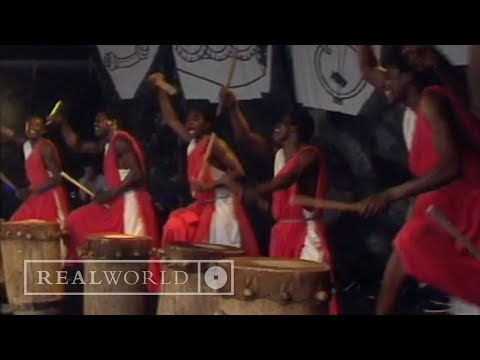 The Drummers of Burundi - Traditional (live at WOMAD Rivermead)