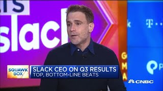 Watch CNBC's full interview with Slack CEO Stewart Butterfield