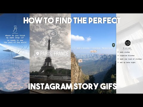 How To Find Aesthetically Pleasing Instagram GIFs For Your Stories — IG STORY HACKS + INSPO