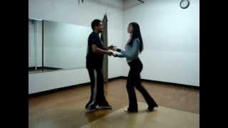 Salsa Basic Step - Salsa On2 by Sheena & Cesar