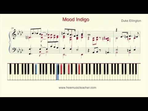 """How To Play Piano: Duke Ellington """"Mood Indigo"""""""