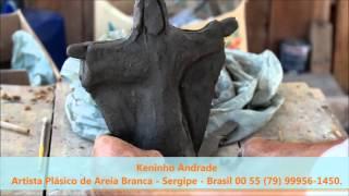 Orixás feito a mão lindas imagens de Keninho Andrade.