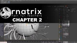 Ornatrix Plugin tutorial in 3ds max. Chapter 2