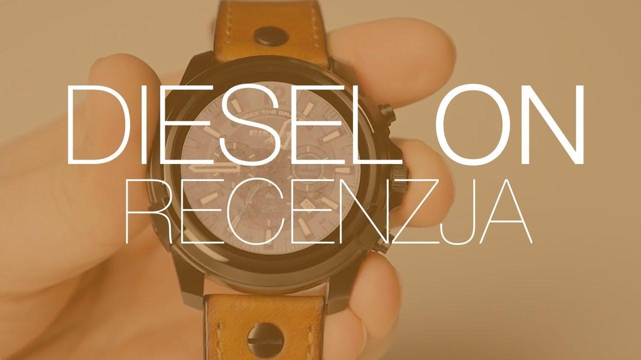 To jeden z najładniejszych zegarków z Androidem na rynku. Recenzja Diesel On