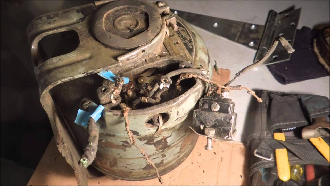 Rewiring The South Bend Lathe Motor Pt 1 - A Video Tutorial From Old Sneelock U0026 39 S Workshop