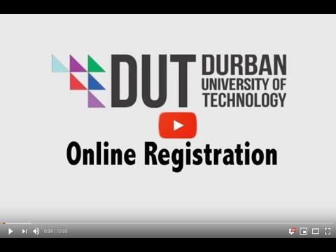 DUT Online Registration Video 2018