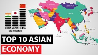Top 10 Economies of Asia 2019 (Nominal GDP)