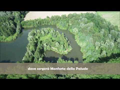 Dove sorgerà Monforte, visto da un drone