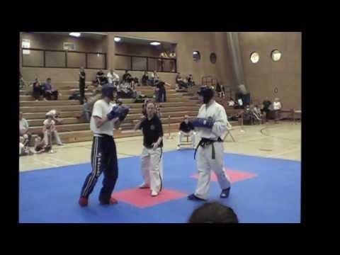 Master Deedigan Martial Arts Academies Tournament Sparring Final 2013