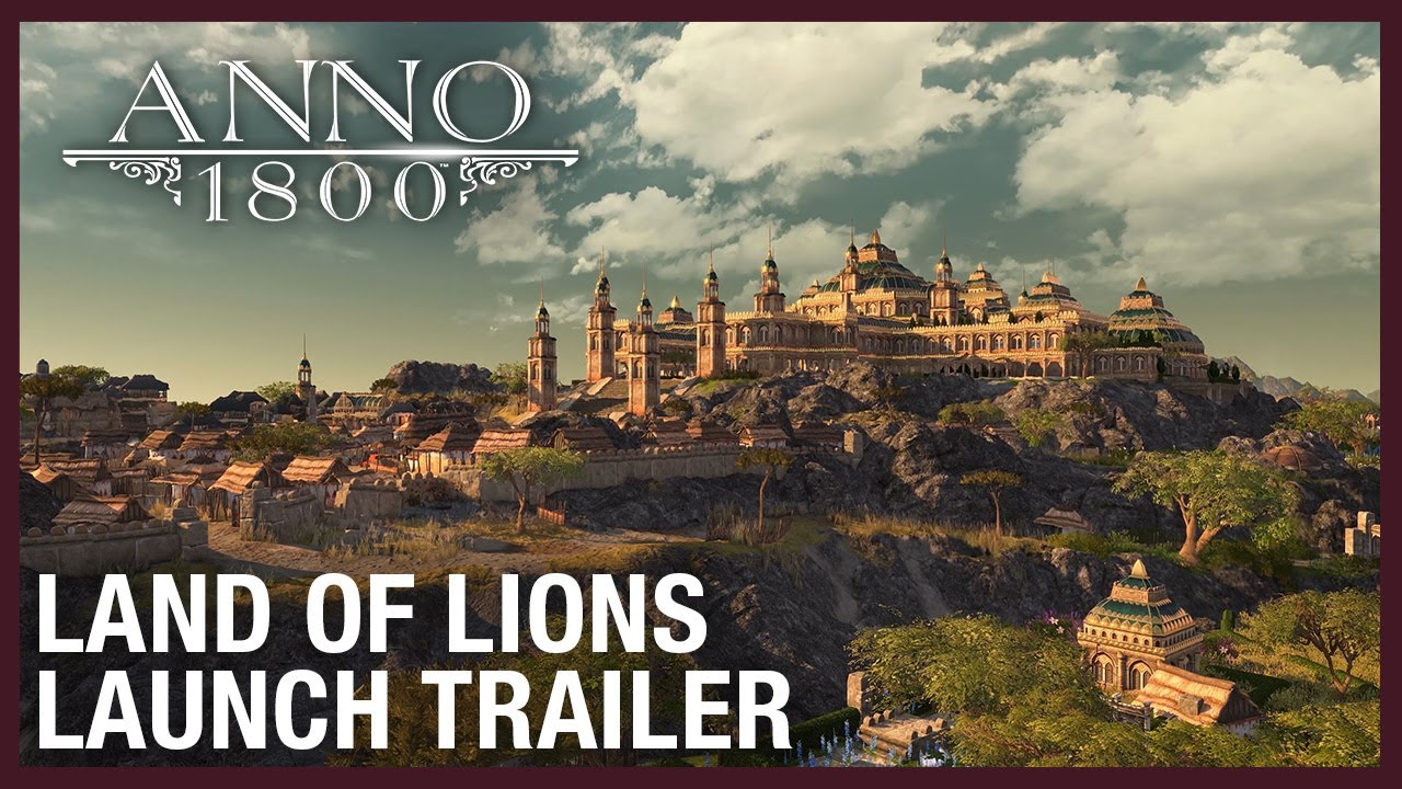 Anno 1800: Land of Lions DLC Launch Trailer | Ubisoft [NA]