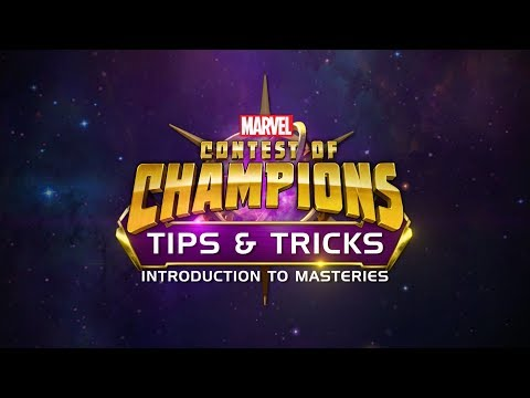 Tips & Tricks | Introduction To Masteries | Marvel Contest Of Champions
