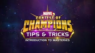In this Tips & Tricks video we cover what you'll need to know about Masteries.