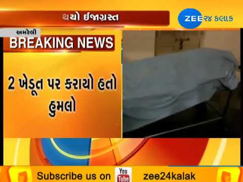 Amreli : Murder of Farmer at Samdhiyala, Khambha|Zee24Kalak