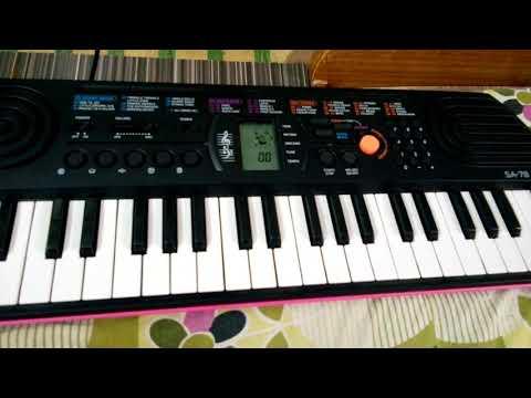 Learn To Play Mere Rashke Qmar On Casio SA-78