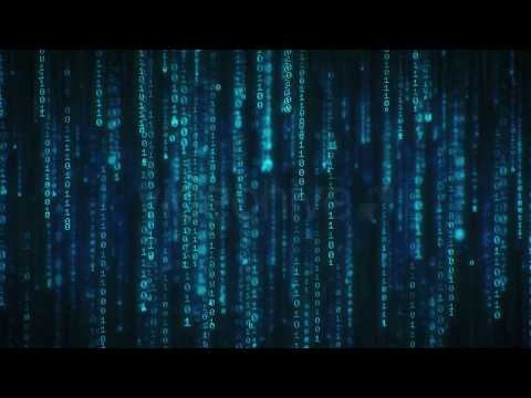 Free Binary Code 4K Long Loop Screensaver