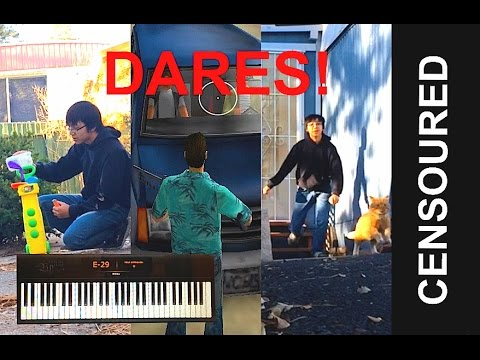I Do Your Dares! (300 Subscriber Special!)
