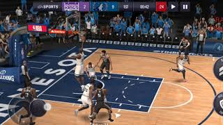 CARA 3 POINT DAN MID RANGE SHOT DI NBA LIVE MOBILE