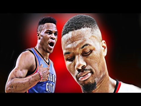 Damian Lillard Or Russell Westbrook WHO'S MORE OVERRATED? Blazers Swept By Pelicans OKC Lose To Jazz