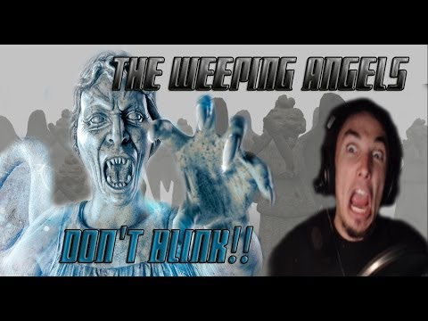 Let's Play The Weeping Angels: DON'T BLINK!!!!