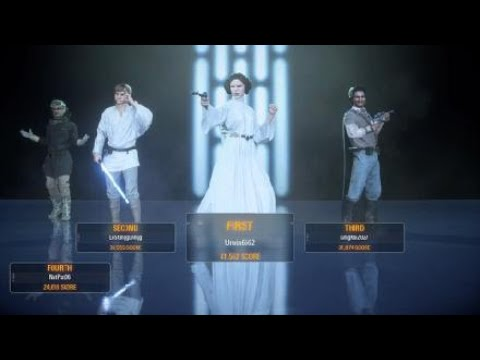 Rebel Assault on the Death Star - SWBFII EA |