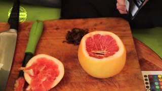 Kalyan Club Video. Кальян на грейпфруте с табаком FUMARI