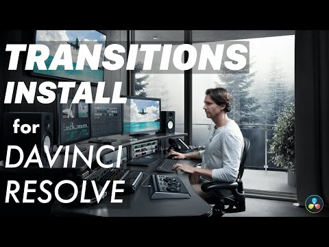 How To Install Transitions On DaVinci Resolve!