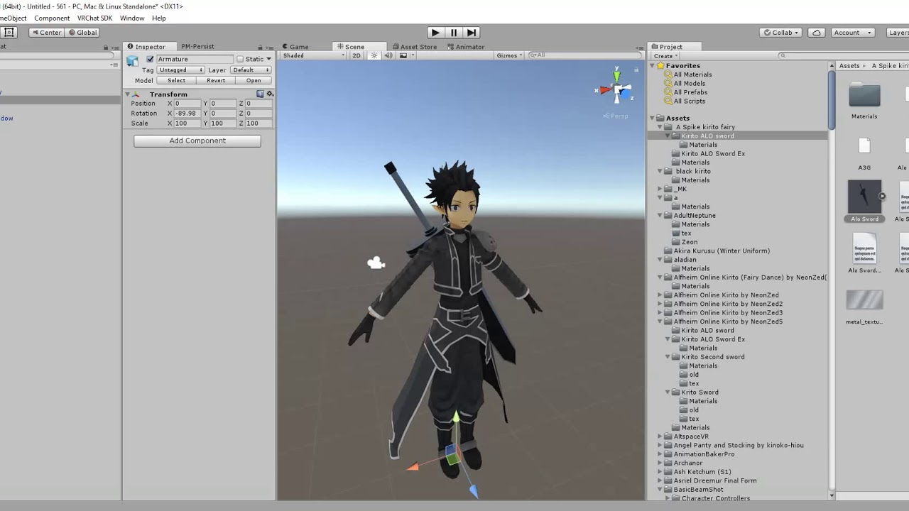 Vrchat unity models | Original How to use MMD models in Unity and