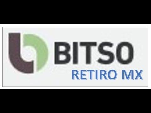 BITSO - CONVERSION BTC Y RETIRO EN PESOS MEXICANOS