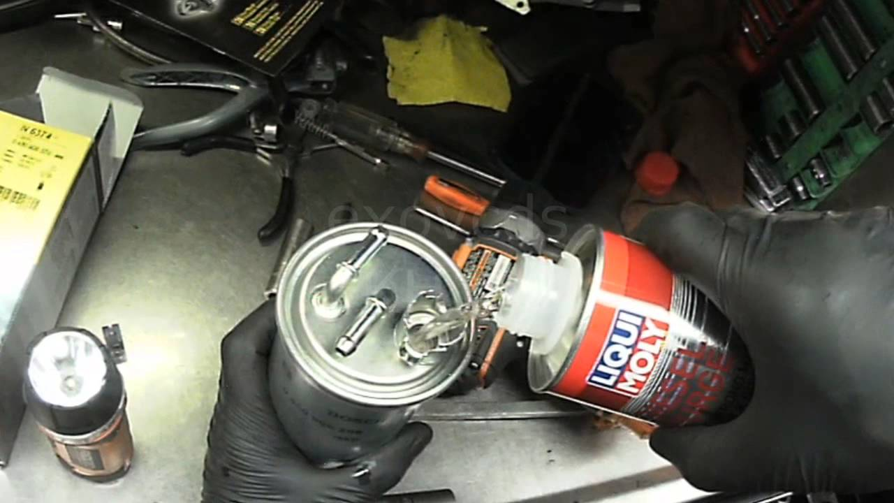 Vw Tdi Fuel Filter Change Auto Electrical Wiring Diagram 300zx Location 2009 Jetta Youtube